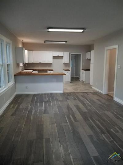 Tyler Single Family Home For Sale: 510 E 6th
