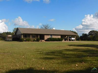 Upshur County Single Family Home For Sale: 9590 Fm 2796