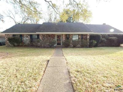 Tyler TX Single Family Home For Sale: $164,500