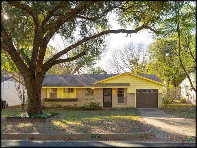 Tyler Single Family Home For Sale: 3727 Appletree