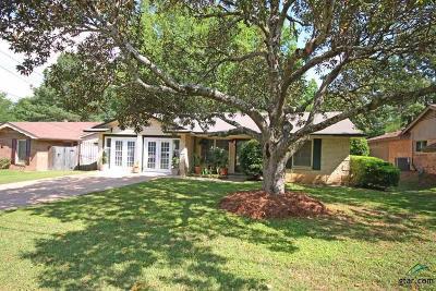 Tyler Single Family Home For Sale: 2720 Anita