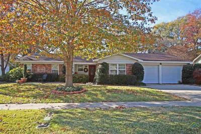 Tyler Single Family Home For Sale: 2517 Shenandoah