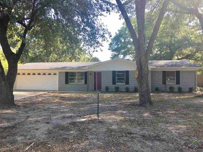 Tyler Single Family Home For Sale: 8124 Kevin