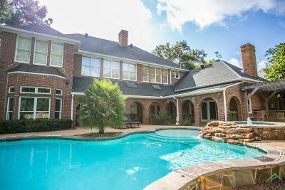 Tyler Single Family Home For Sale: 6401 Hollytree Circle