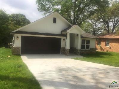 Tyler Single Family Home For Sale: 3104 Martha