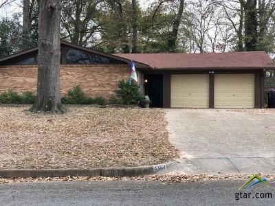 Tyler Single Family Home For Sale: 3107 Rollingwood Drive