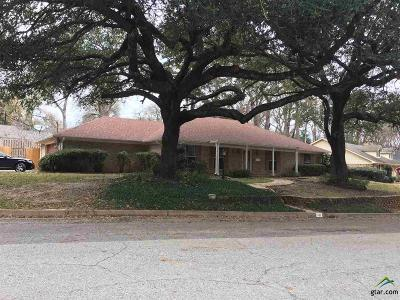Tyler Single Family Home For Sale: 1008 Pollard Dr.