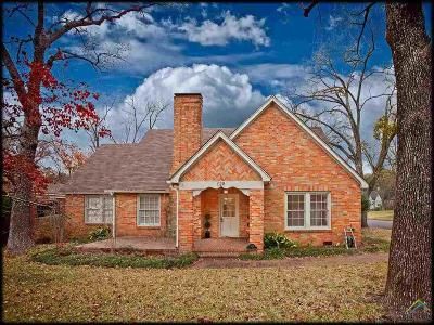 Tyler Single Family Home For Sale: 628 Troup Hwy
