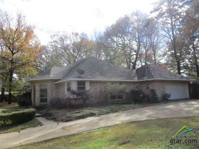 Tyler Single Family Home For Sale: 15542 Martha Carol Ln