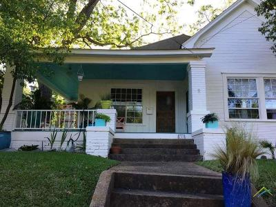 Tyler Single Family Home For Sale: 701 S Bois D Arc
