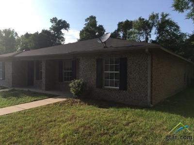 Tyler Multi Family Home For Sale: 10834 Kiamichi Drive