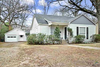Tyler Single Family Home For Sale: 1611 E Travis Street