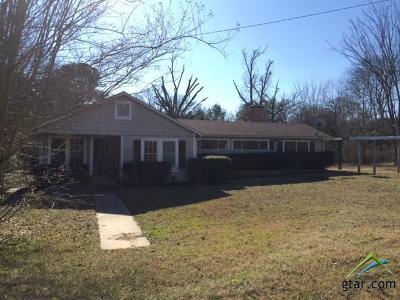 Tyler Single Family Home For Sale: 16796 E Hwy 64