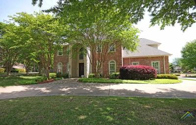 Tyler Single Family Home For Sale: 7409 Macallan Cove