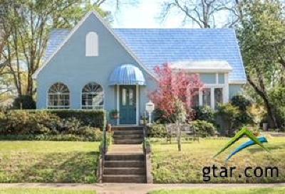 Tyler Single Family Home For Sale: 305 E 2nd Street