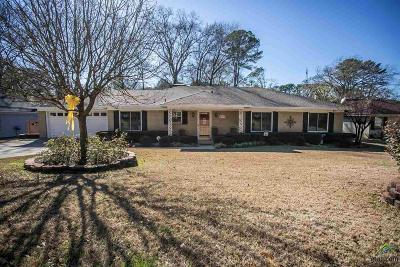 Tyler Single Family Home For Sale: 8213 Baylor Dr