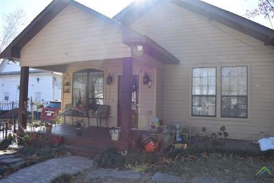 Tyler Single Family Home For Sale: 119 E Cedar St