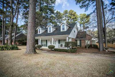 Tyler Single Family Home For Sale: 1218 Old Hickory Rd
