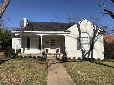 Tyler Single Family Home For Sale: 514 E Charnwood