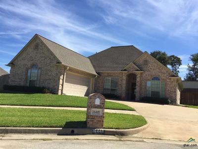 Tyler Single Family Home For Sale: 16448 Kingston Ct