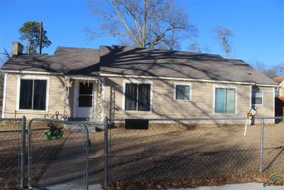 Tyler Single Family Home For Sale: 1221 Mockingbird