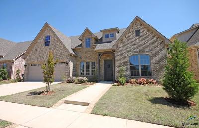 Tyler Single Family Home For Sale: 7360 Lake Pointe Cv