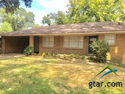 Tyler Single Family Home For Sale: 2400 Hunter