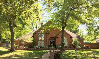 Tyler Single Family Home For Sale: 5012 Hallye