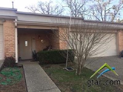 Tyler Condo/Townhouse For Sale: 2118 Villa Drive