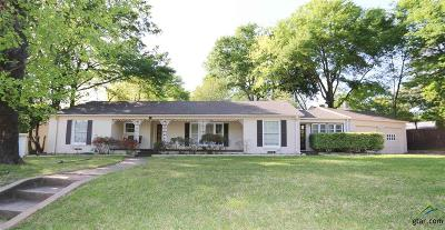 Tyler Single Family Home For Sale: 2425 S Robertson