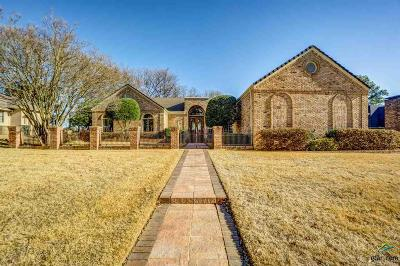 Tyler Single Family Home For Sale: 1605 Woodlands Dr