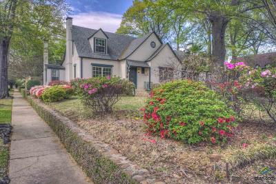 Tyler Single Family Home For Sale: 1421 S College