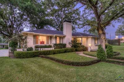 Tyler Single Family Home For Sale: 1306 Wilma