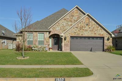 Tyler Single Family Home For Sale: 1557 Skidmore Ln