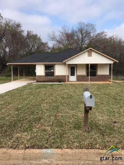 Tyler Single Family Home For Sale: 2207 Luther St.