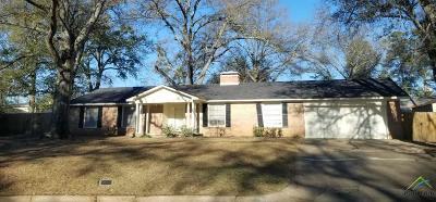 Tyler Single Family Home For Sale: 3209 Fernwood