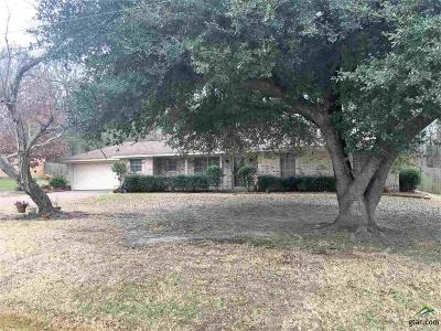 Tyler TX Single Family Home For Sale: $157,000