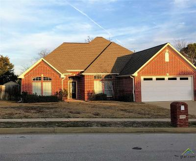 Tyler Single Family Home For Sale: 16579 Kingston