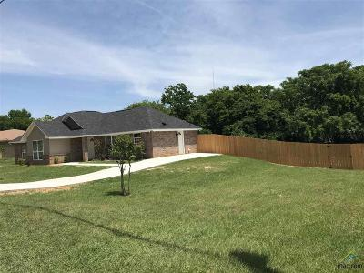 Tyler Single Family Home For Sale: 2225 Industrial Ave