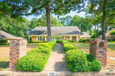 Longview Single Family Home For Sale: 919 Regency Dr