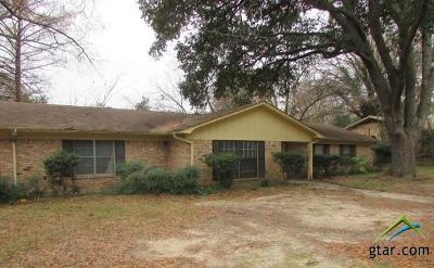 Tyler Single Family Home For Sale: 3001 S Robertson