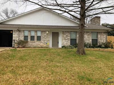 Tyler Single Family Home For Sale: 605 Beth Drive
