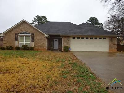 Tyler Single Family Home For Sale: 112 Aj Blvd
