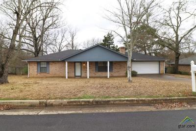 Tyler Single Family Home For Sale: 16826 Overland Stage Dr.