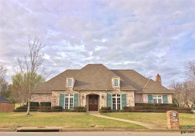 Tyler TX Single Family Home For Sale: $595,000