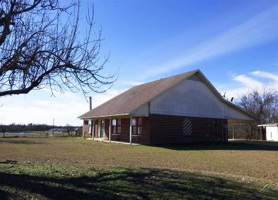 Mt Pleasant TX Single Family Home For Sale: $119,500