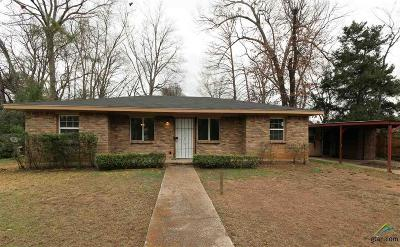 Longview TX Single Family Home For Sale: $80,000