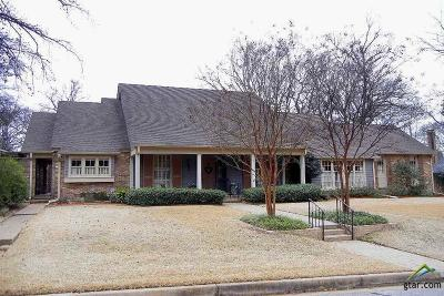 Tyler TX Single Family Home For Sale: $545,000
