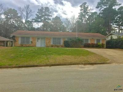 Tyler Single Family Home For Sale: 8118 Brookhollow