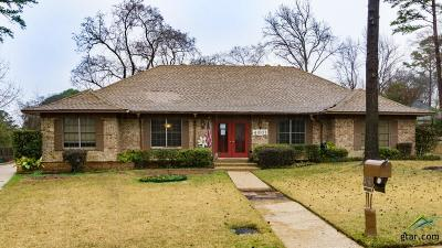Tyler Single Family Home For Sale: 4801 Wendover Pl